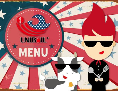 UNIBOIL Meal Menu